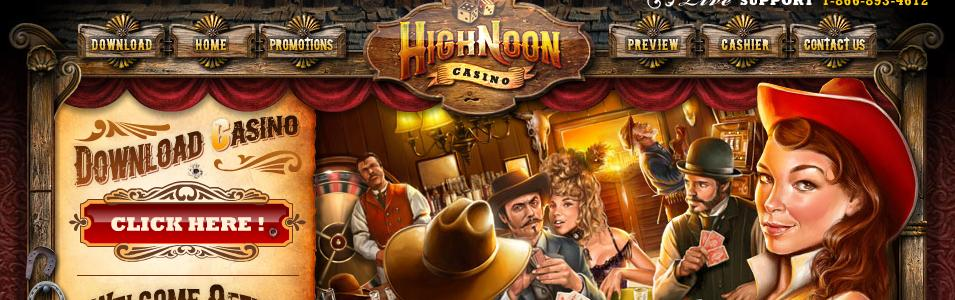 High Noon Casino - US Players Accepted!